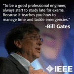 To Be A Good Professional Engineer...