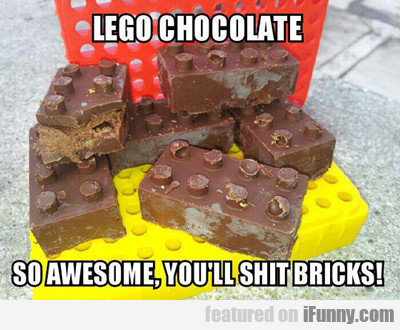 Lego Chocolate: So Awesome You'll Shit Bricks...
