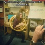 My College Marching Band Is...