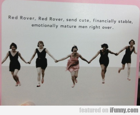 Red Rover, Red Rover, Send Cute