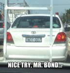 Nice Try Mr. Bond...