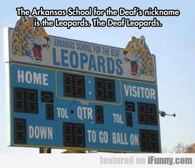 The Arkansas School For The Deaf...