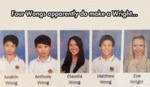 Four Wongs Apparently Do Make A Wright...