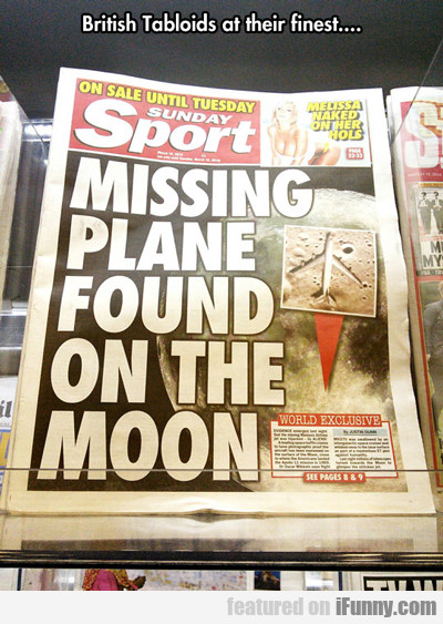 british tabloids at their finest...