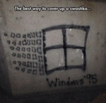 The Best Way To Cover Up A Swastika...