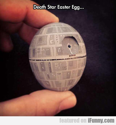 Death Star Easter Egg...