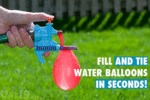 Fill And Tie Water Balloons In Seconds...