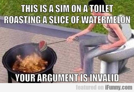 this is a sim on a toilet...