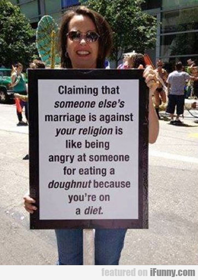 Claiming That Someone Else's Religion...