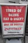 Tired Of Being Fat And Ugly...