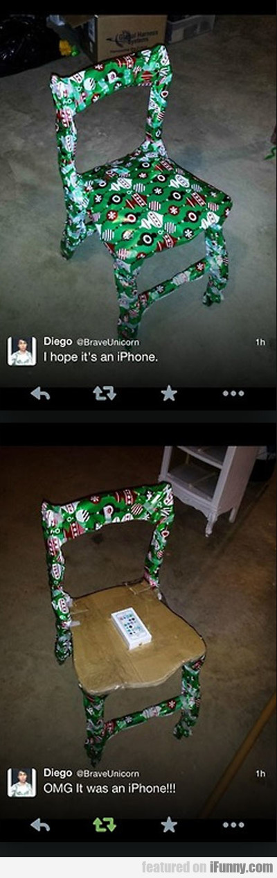I Hope It's An Iphone...