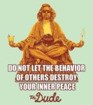 Do Not Let The Behaviour Of Others Destroy Your...