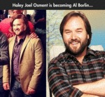 Haley Joel Osment Is Becoming Al Borlin...