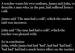 A Teacher Wants His Two Students, James And John..
