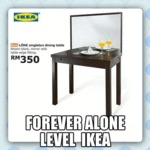 Forever Alone Level Ikea...