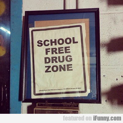 School Feee Drug Zone