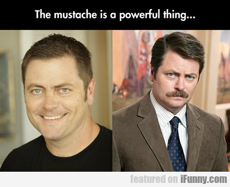 The Mustache Is A Powerful Thing...
