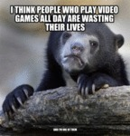 I Think People Who Like Video Games...