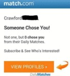 Crawford, Someone Chose You! Not One, But...