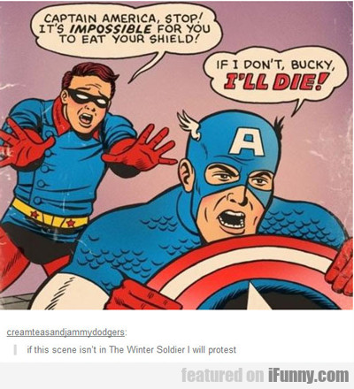 Captain America, Stop! It's Impossible...