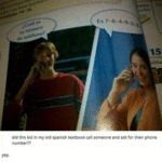 Did This Kid In My Old Spanish Textbook...