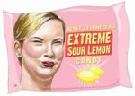 Renee Zellweger's Extreme Sour Lemon Candy...