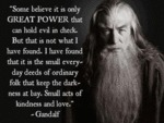 Some Believe It Is Only Great Power That Can...