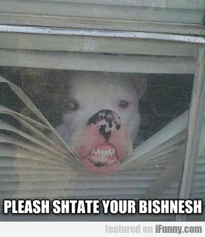 Pleash Shtate Your Bishnesh