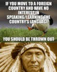 If You Move To A Foreign Country And Have No...