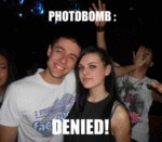 Photo Bomb: Denied!