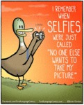 I Remember When Selfies Were Just Called...