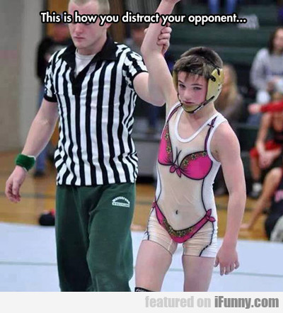 This Is How You Distract Your Opponent...