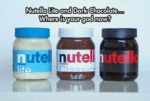Nutella Lite And Dark Chocolate...