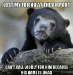Lost My Friend At The Airport...