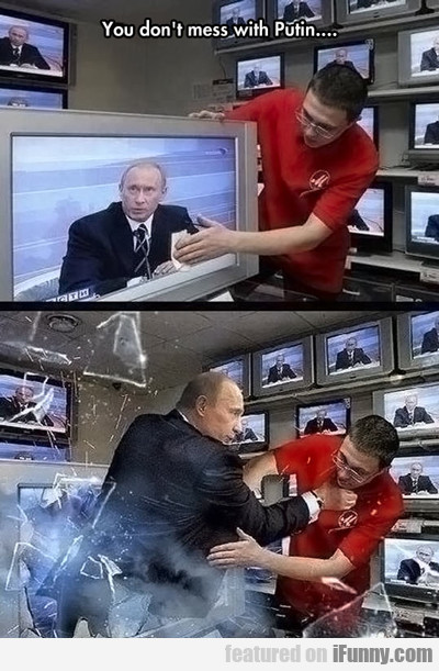 You Don't Mess With Putin...