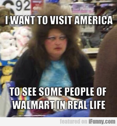 I Want To Visit America...