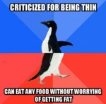 Criticized For Being Thin...