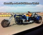 Meanwhile, On The I-40 Oklahoma...