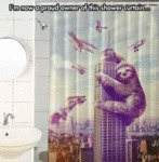 I'm Now A Proud Owner Of This Shower Curtain...