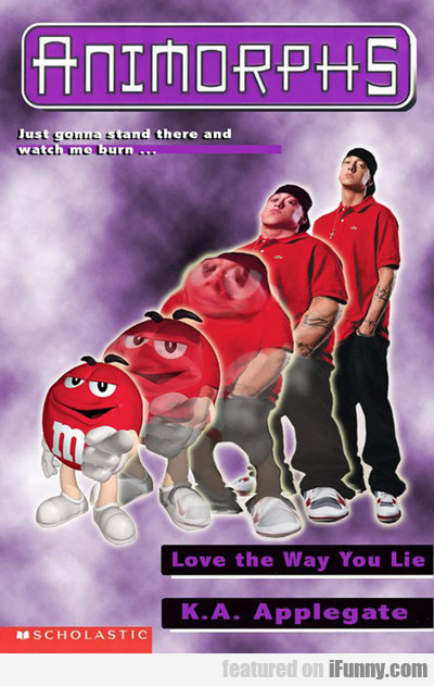 animorphs: just gonna stand there and watch...