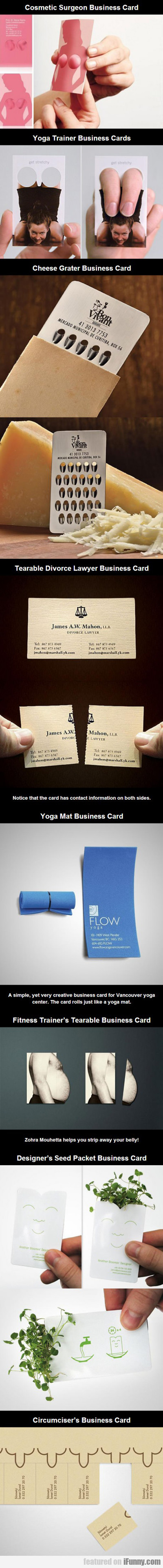Cosmetic Surgeon Business Card...