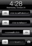 Slide To Self-destruct, Slide To Teleport