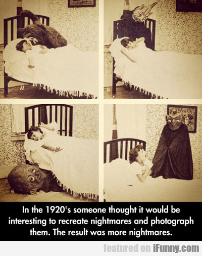 in the 1920s someone thought it would...
