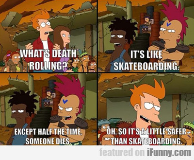 what's death rolling?