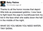 Thanks To All The Horror Movies That Depict