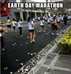 Earth Day Marathon...