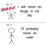I Will Never Do Drugs In My Life