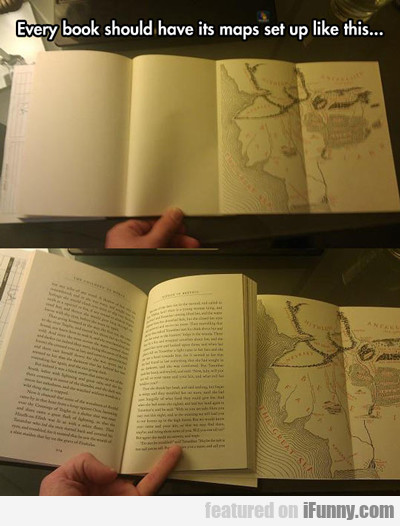 Every Book Should Have Its Maps Set Up Like...