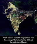 Nasa Released A Satellite Image...