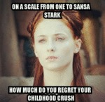 On A Scale From One To Sansa...